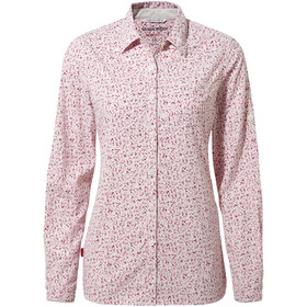 Craghoppers NosiLife Fara Longsleeved Shirt Women raspberry print